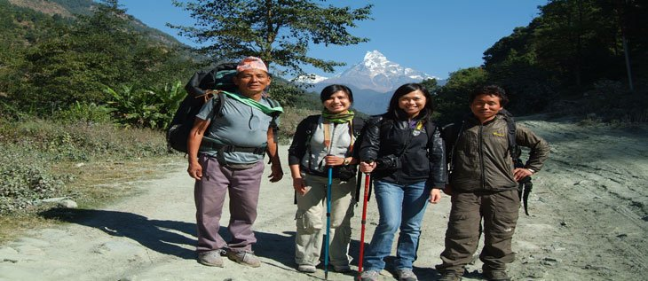 Hiring Local guide and porter from Pokhara
