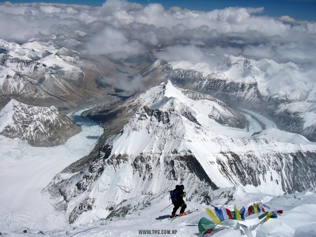 Everest Expedition Tibet Side