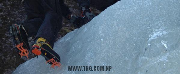 NORNEP waterfall Ice Climbing
