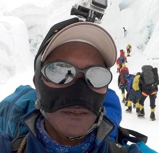 Kami Rita Sherpa scales Mt Everest