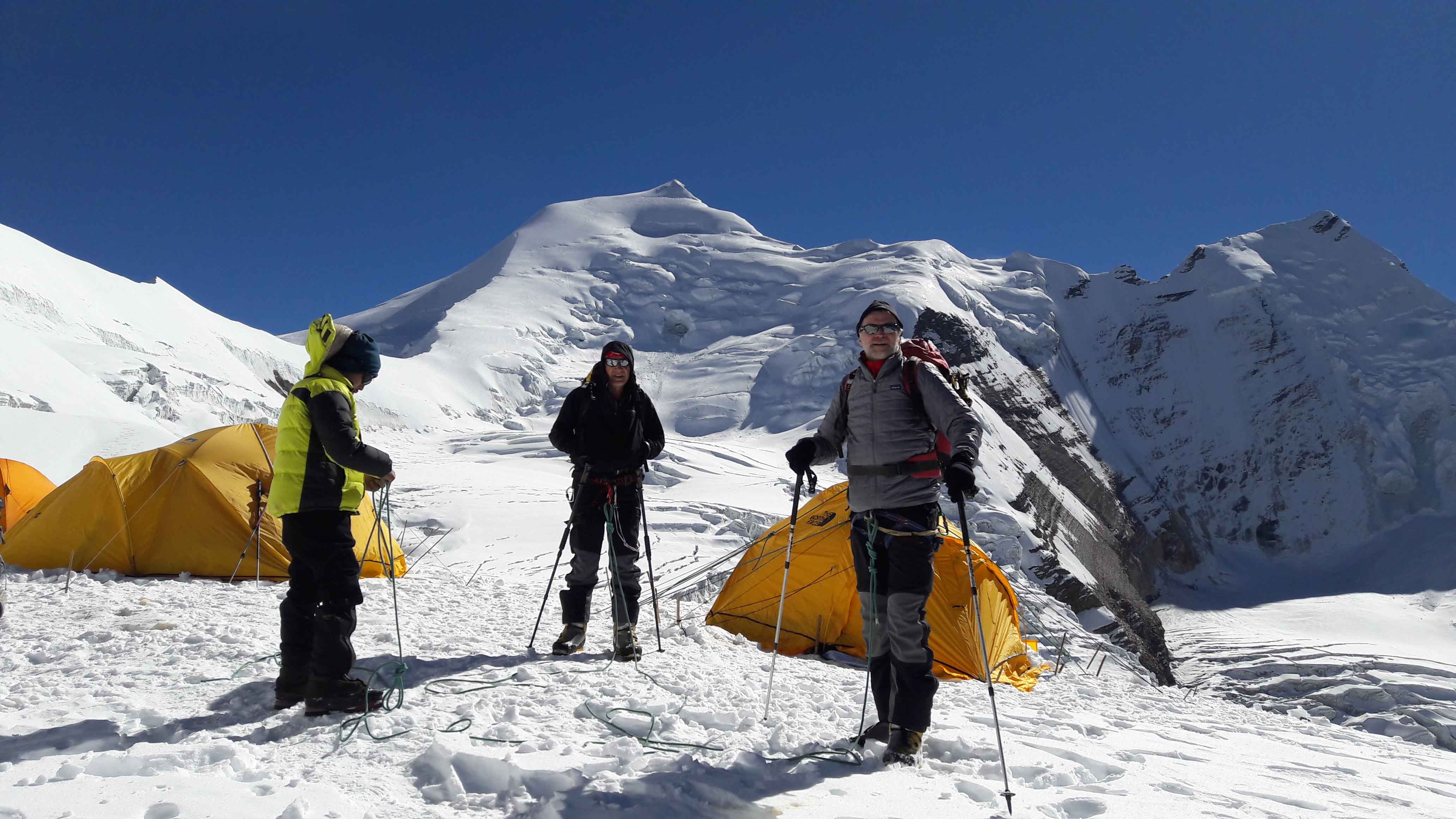Mount Himlung Himal Expedition in Nepal