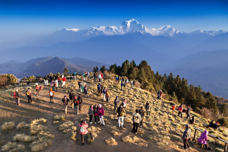 Trekking in nepal -  Ghorepani poon hill trek