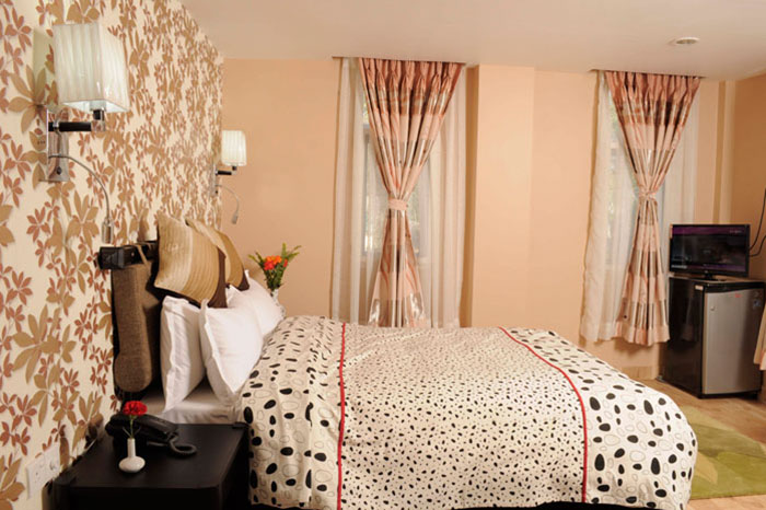 Standard Rooms - King sized bed with Balcony