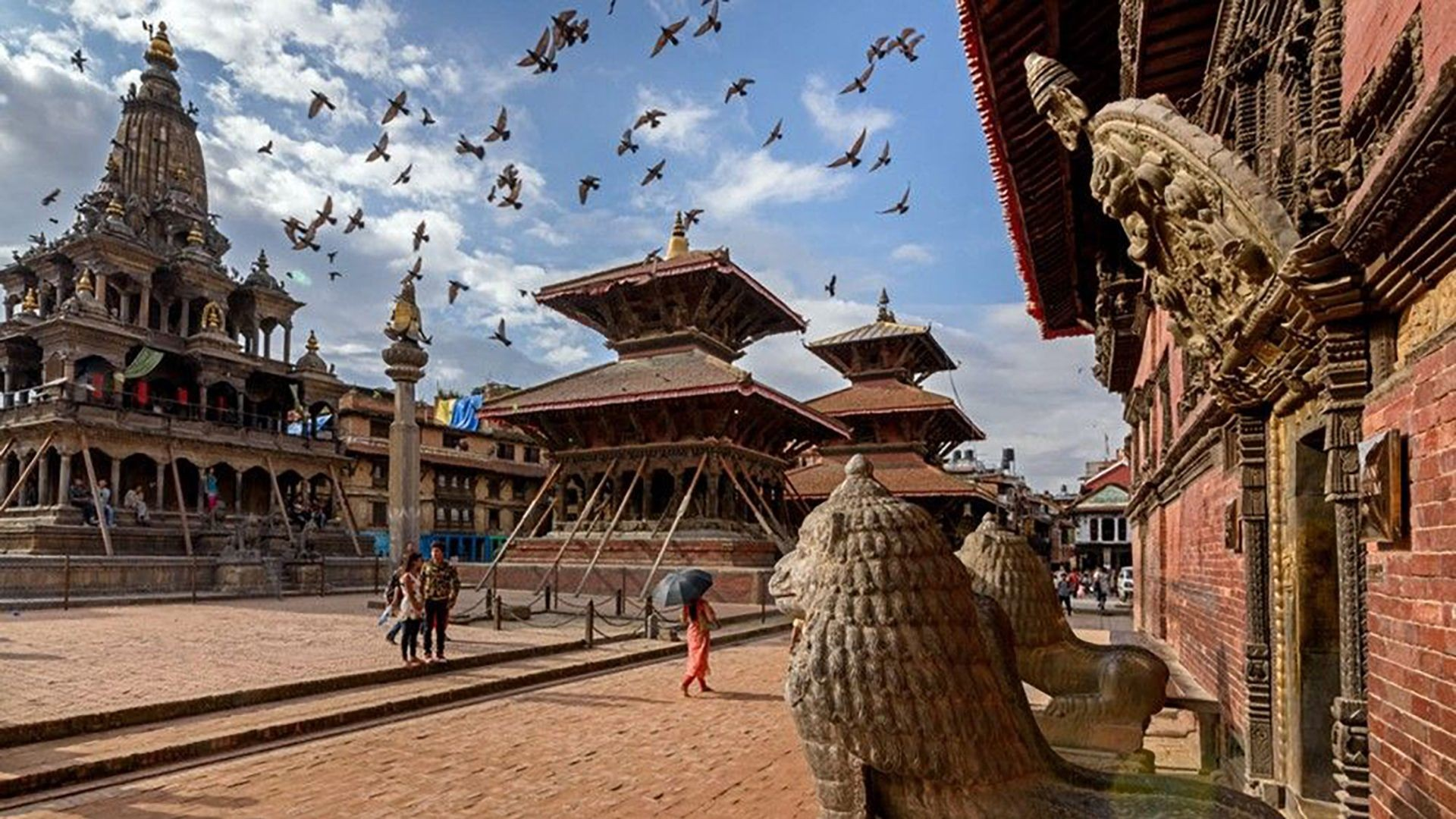 Stepping into Kathmandu