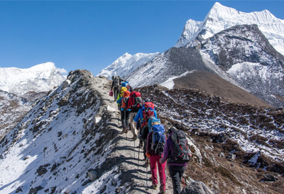 Trek in Everest region