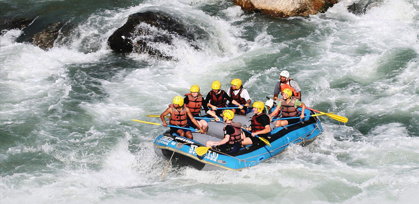 Bhote Kosi River Rafting - 4 Days