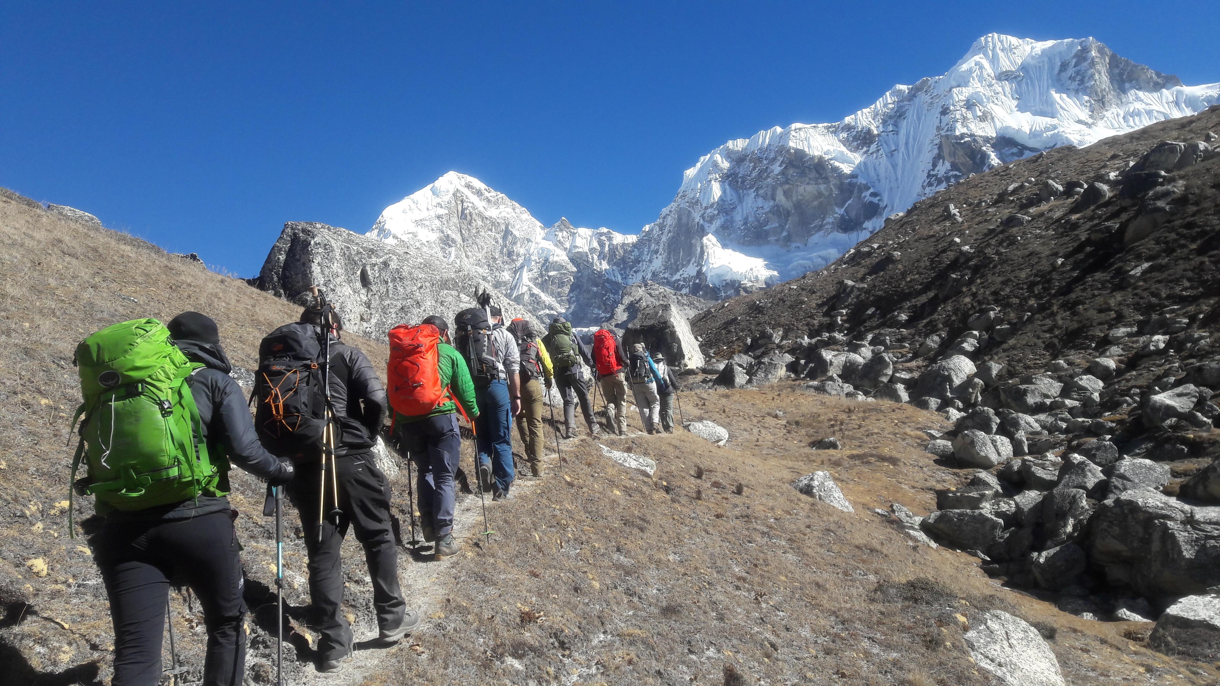 Trekking in Rolwaling