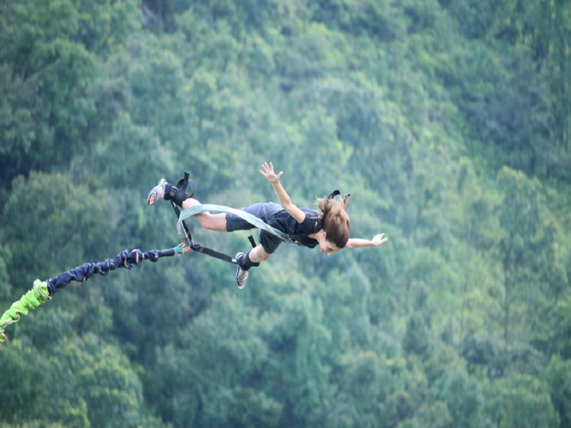 Bunjee Jump (The Last Resort, BhoteKoshi)